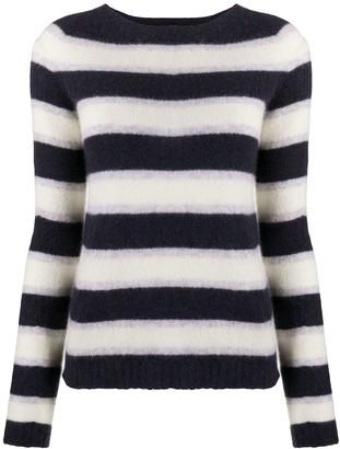 Roberto Collina Stripe Knitted Jumper