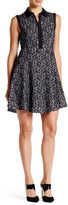Betsey Johnson Sleeveless Jacquard Dress