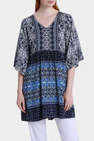 Jump Mosaic Printed Tunic Top
