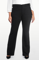 NYDJ Isabella Trouser In Ponte Knit In Plus