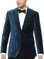 Jf J.Ferrar JF Long-Sleeve Velvet Sport Coat - Slim Fit