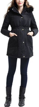 Kimi + Kai Maternity Mina Vest Convertible Parka Coat