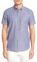 Ted Baker 'Liming' Modern Slim Fit Short Sleeve Sport Shirt
