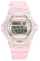 Baby-G Pink Jelly Digital Watch
