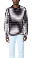 Paul Smith Striped Merino Wool Crew Neck Sweater