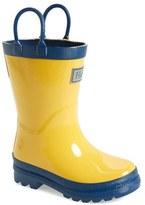 Hatley Waterproof Rain Boot (Walker & Toddler)