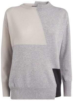 Lorena Antoniazzi Cashmere Patch Sweater