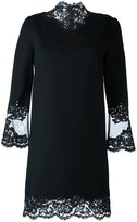 Ermanno Scervino lace-trimmed shift dress