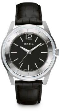 Breil Milano Stainless Steel Slim-Strap Watch