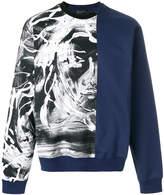 Versace painted Medusa sweatshirt