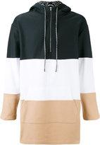 Les Benjamins striped hooded sweatshirt - men - Cotton - S