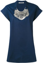 Miahatami - oversized necklace top - women - Cotton - 44