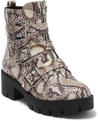 BP Lilly Buckled Moto Boot