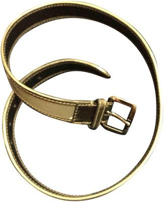Burberry Grey Cloth Belts