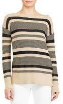 Lauren Ralph Lauren Linen-Cotton Drop-Shoulder Top