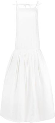 Jacquemus Spaghetti-Strap Drop-Waist Dress