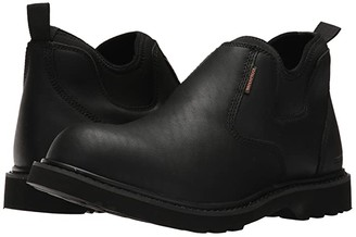 Carhartt Waterproof Oxford Romeo (Black Oil Tanned Leather) Men's Shoes