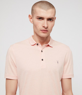 AllSaints Cooper Short Sleeve Polo Shirt