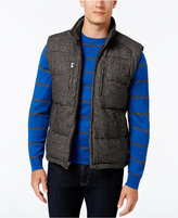 MICHAEL Michael Kors Men's Big and Tall Tweed Down Vest