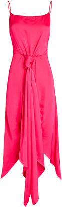 Cult Gaia Natasha High-Low Sarong Dress