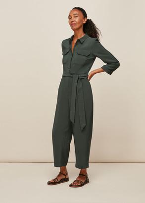 Lacey Pocket Detail Jumpsuit