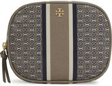 Tory Burch Gemini link graphic canvas cosmetic bag
