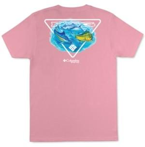 Columbia Men's Performance Fishing Gear Multi Fish Graphic T-Shirt