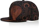 Givenchy MEN'S COBRA-PRINT BASEBALL CAP