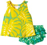 Masala Boogie And Rhythm Bloomer Set (Baby) - Yellow-6-12 Months