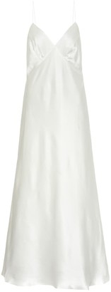 BERNADETTE Exclusive to Mytheresa Jeanette silk maxi dress