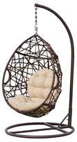 Christopher Knight Home Wicker Patio Tear Drop Chair - Brown
