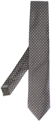 Canali dotted pattern tie