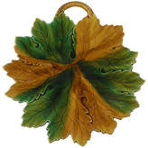 One Kings Lane Vintage Majolica Leaf Platter