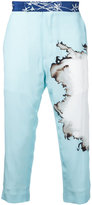 Haider Ackermann dye print trousers - men - Silk - 46