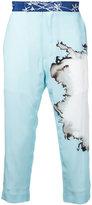 Haider Ackermann dye print trousers