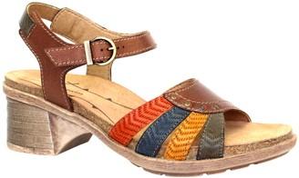 Dromedaris Adjustable Leather Strap Sandals - Shelly