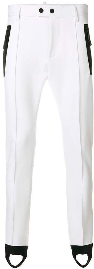 DSQUARED2 skinny fit stirrup trousers