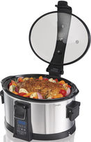 Hamilton Beach Set & Forget 6-qt. Programmable Slow Cooker