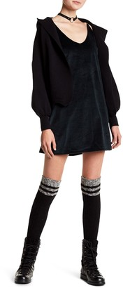 Six Crisp Days Velvet Camisole Dress