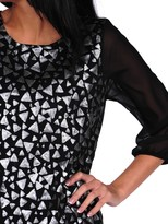 Romeo & Juliet Couture Triangle Sequence Blouse
