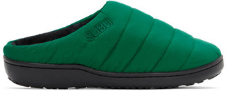 SUBU Green Uneveness Loafers