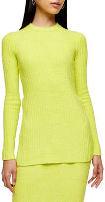 Topshop Chenille Tunic Top by Boutique