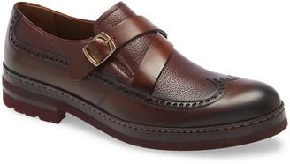 Ike Behar Fusion Monk Strap Shoe