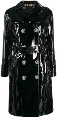 Philipp Plein Double-Breasted Trench Coat