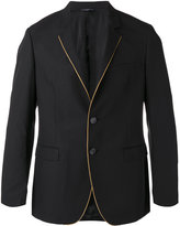 Tonello contrasting pipping blazer - men - Cotton/Polyester/Cupro - 50