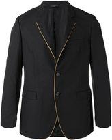Tonello contrasting pipping blazer