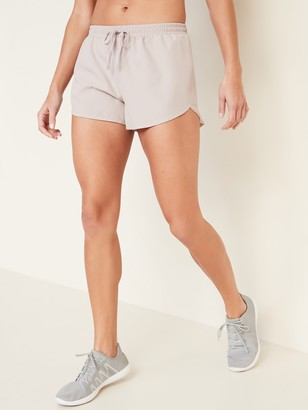 Old Navy Dolphin-Hem Run Shorts for Women -- 3-inch inseam