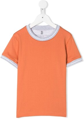 BRUNELLO CUCINELLI KIDS round neck T-shirt
