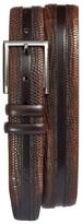 Mezlan Men's Lizard Leather Belt