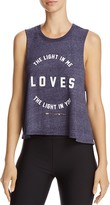 Spiritual Gangster Light In Me Cropped Tank